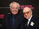 Robert Wagner and Mart Crowley attend 'The Boys in the Band' 50th Anniversary Celebration at The Booth Theatre on May 30, 2018 in New York City.
