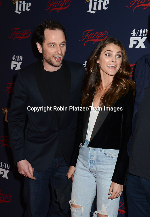Matthew Rhys, Keri Russell attend FX's 2017 All-Star Upfront on  April 6, 2017 at SVA Theater in New York, New York, USA. <br /> <br /> photo by Robin Platzer/Twin Images<br />  <br /> phone number 212-935-0770