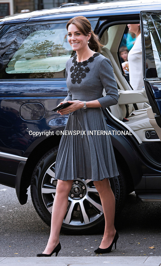 27.10.2015; London, England: KATE MIDDLETON <br />attends ChanceUK children&rsquo;s charity event at Islington Town Hall.<br />Mandatory Photo Credit: &copy;Dias/NEWSPIX INTERNATIONAL<br /><br />**ALL FEES PAYABLE TO: &quot;NEWSPIX INTERNATIONAL&quot;**<br /><br />PHOTO CREDIT MANDATORY!!: NEWSPIX INTERNATIONAL(Failure to credit will incur a surcharge of 100% of reproduction fees)<br /><br />IMMEDIATE CONFIRMATION OF USAGE REQUIRED:<br />Newspix International, 31 Chinnery Hill, Bishop's Stortford, ENGLAND CM23 3PS<br />Tel:+441279 324672  ; Fax: +441279656877<br />Mobile:  0777568 1153<br />e-mail: info@newspixinternational.co.uk