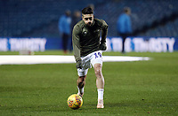 Leeds United's Pablo Hernandez during the pre-match warm-up <br /> <br /> Photographer Rich Linley/CameraSport<br /> <br /> The EFL Sky Bet Championship - Leeds United v Reading - Tuesday 27th November 2018 - Elland Road - Leeds<br /> <br /> World Copyright &copy; 2018 CameraSport. All rights reserved. 43 Linden Ave. Countesthorpe. Leicester. England. LE8 5PG - Tel: +44 (0) 116 277 4147 - admin@camerasport.com - www.camerasport.com