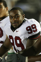 1 October 2006: Levirt Griffin during Stanford's 31-0 loss to UCLA at the Rose Bowl in Pasadena, CA.