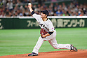 Tomoyuki Sugano (JPN), <br /> MARCH 14, 2017 - WBC : <br /> 2017 World Baseball Classic <br /> Second Round Pool E Game <br /> between Japan 8-5 Cuba <br /> at Tokyo Dome in Tokyo, Japan. <br /> (Photo by YUTAKA/AFLO SPORT)