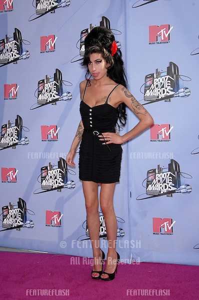 Amy Winehouse at the 2007 MTV Movie Awards at the Universal Amphitheatre..June 3, 2007 Los Angeles, CA.Picture: Paul Smith / Featureflash