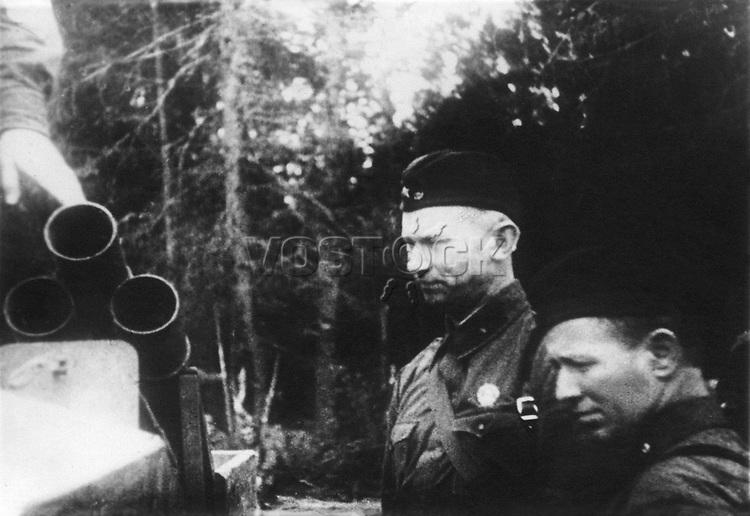 Alexander A Fadeev (1910 -1956) - russian soviet writer and public figure, journalist, war correspondent. / Александр Александрович Фадеев (1910 -1956) - русский советский писатель и общественный деятель, журналист, военный корреспондент.