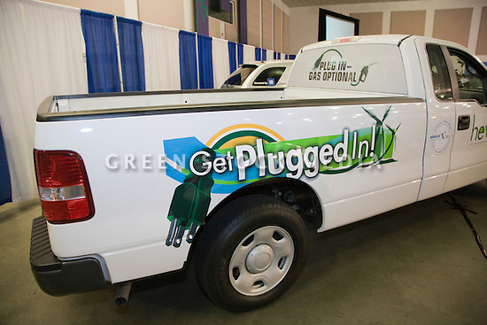 Hybrid Electric Vehicle Technologies, Inc. (HEVT) unveiled the world's first plug-in hybrid electric vehicle (PHEV) version of the popular Ford F-150 pickup truck at the event. Opening day of the July 22-24 inaugural Plug-In 2008 Conference & Exposition: A Short Drive to Tomorrow in San Jose, CA. The event showcases the latest technological advances, market research and policy initiatives shaping the future of plug-in hybrid electric vehicles (PHEVs).
