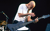 SYSTEM OF A DOWN - bassist Shavo Oladjian - performing live at the Reading Festival in Reading UK - 26 Aug 2001.  Photo credit: PG Brunelli/IconicPix
