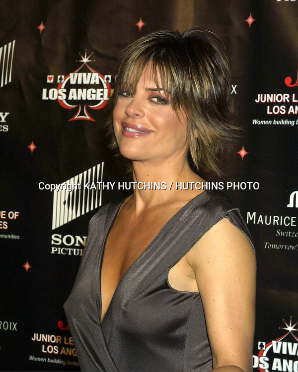 ©2003 KATHY HUTCHINS / HUTCHINS PHOTO.JUNIOR LEAGUE OF LOS ANGELES.2ND ANNUAL VIVA LOS ANGELES CASINO NIGHT.CULVER CITY, CA.OCTOBER 4, 2003..LISA RINNA