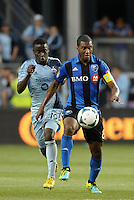 Patrice Bernier (8) midfield Montreal Impact in action.<br /> Montreal Impact defeated Sporting Kansas City 2-1 at Sporting Park, Kansas City, Kansas.