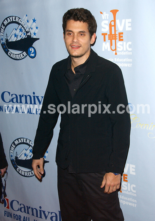 "**ALL ROUND PICTURES FROM SOLARPIX.COM**.**SYNDICATION RIGHTS FOR UK, AUSTRALIA, DENMARK, PORTUGAL, S. AFRICA, SPAIN & DUBAI (U.A.E) ONLY**.John Mayer arrives for ""One Splendid Evening"" Sponsored By Carnival Cruise Lines And Benefiting VH1 Save The Music Foundation. At Carnival Splendor, Port Of Los Angeles, San Pedro, USA. 26 March 2009..This pic: John Mayer..JOB REF: 8731 PHZ (Ortega)  DATE: 26_03_2009.**MUST CREDIT SOLARPIX.COM OR DOUBLE FEE WILL BE CHARGED**.**ONLINE USAGE FEE GBP 50.00 PER PICTURE - NOTIFICATION OF USAGE TO PHOTO @ SOLARPIX.COM**.**CALL SOLARPIX : +34 952 811 768 or LOW RATE FROM UK 0844 617 7637**"