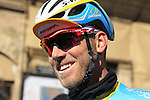 Lars Boom (NED) Astana before the start of the 2015 Strade Bianche Eroica Pro cycle race 200km over the white gravel roads from San Gimignano to Siena, Tuscany, Italy. 7th March 2015<br /> Photo: Eoin Clarke www.newsfile.ie