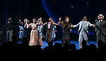 Joshua Henry, Renee Fleming, Lindsay Mendez, Amir Ramasar, Margaret Colin, John Douglas Thompson and Alexander Gemignani during the Opening Night Curtain Call for 'Carousel' at the Imperial Theatre on April 12, 2018 in New York City.