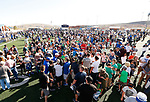 _W1_8555<br /> <br /> The BYU Football Team holds a public practice and Fan Fest at Dixie High School in St. George, Utah.<br /> <br /> 2017 BYU Football - Spring Practice March 17, 2017<br /> <br /> March 17, 2017<br /> <br /> Photo by Jaren Wilkey/BYU<br /> <br /> &copy; BYU PHOTO 2017<br /> All Rights Reserved<br /> photo@byu.edu  (801)422-7322
