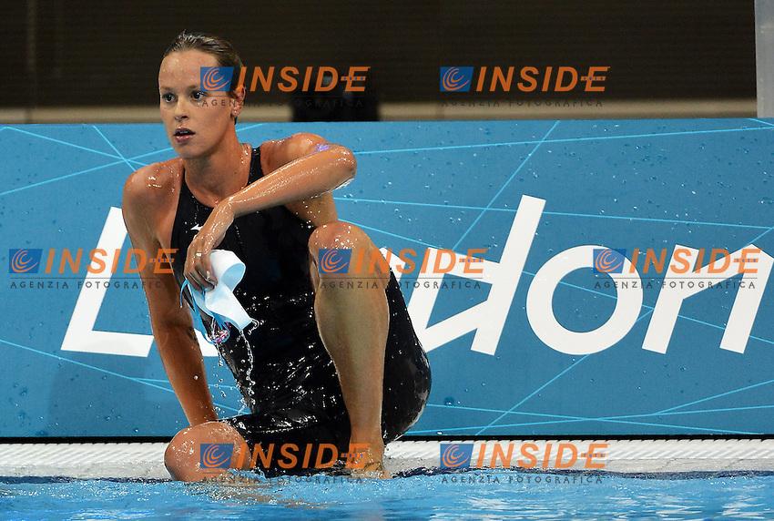 Federica Pellegrini Italy Women's 400m Freestyle.London 30/7/2012 Aquatics Center .London 2012 Olympic games - Olimpiadi Londra 2012.Swimming - Nuoto.Foto Andrea Staccioli Insidefoto