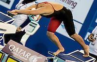 HOWELL Samantha USA<br /> 100 freestyle women<br /> heats<br /> FINA Airweave Swimming World Cup 2015<br /> Doha, Qatar 2015  Nov.2 nd - 3 rd<br /> Day0 - Nov. 1 st<br /> Photo G. Scala/Deepbluemedia/Insidefoto
