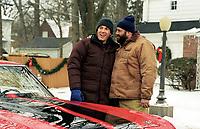 Surviving Christmas (2004)<br /> Ben Affleck &amp; James Gandolfini<br /> *Filmstill - Editorial Use Only*<br /> CAP/KFS<br /> Image supplied by Capital Pictures