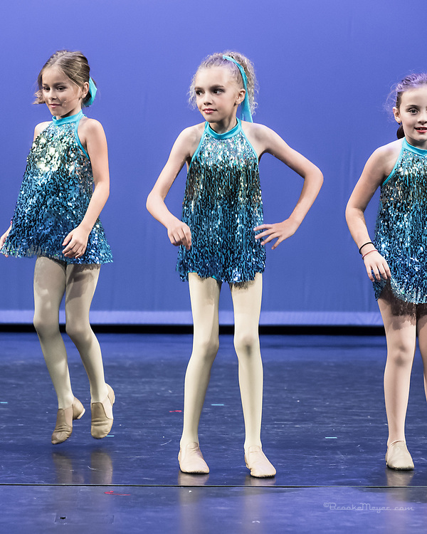 """Thursday Dress Rehearsal of """"Shine On"""", the 2017 Annual Recital by Bravo Academy."""