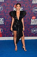 05 June 2019 - Nashville, Tennessee - Sarah Hyland. 2019 CMT Music Awards held at Bridgestone Arena. <br /> CAP/ADM/DMF<br /> ©DMF/ADM/Capital Pictures
