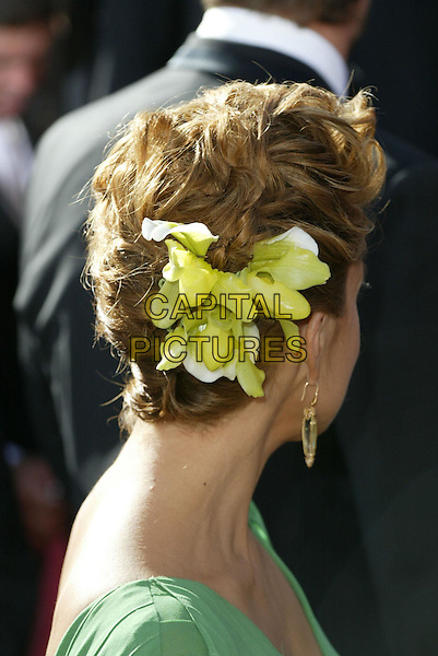 MARISKA HARGITAY.At the 56th Annual Prime Time Emmy Awards held the Shrine Auditorium, Los Angeles, CA, USA, .19th September, 2004..portrait headshot flower in hair.Ref: ADM.www.capitalpictures.com.sales@capitalpictures.com.©Charles Harris/AdMedia/Capital Pictures .