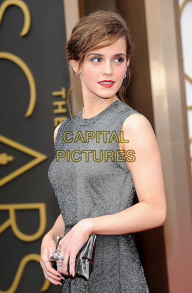 HOLLYWOOD, CA - MARCH 2: Emma Watson arriving to the 2014 Oscars at the Hollywood and Highland Center in Hollywood, California. March 2, 2014. <br /> CAP/MPI/COR<br /> &copy;Corredor99/ MediaPunch/Capital Pictures