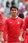 26 March 2016: Toluca's Diego Aguilar (MEX). The Carolina RailHawks of the North American Soccer League hosted Deportivo Toluca Futbol Club of LigaMX at WakeMed Stadium in Cary, North Carolina in an international friendly club soccer match. Toluca won the game 3-0.