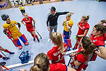 Mannheim, Germany, December 01: During the Bundesliga indoor women hockey match between Mannheimer HC and Nuernberger HTC on December 1, 2019 at Irma-Roechling-Halle in Mannheim, Germany. Final score 7-1. (Copyright Dirk Markgraf / 265-images.com) ***