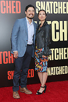 """LOS ANGELES - MAY 10:  Randall Park, Jae W Suh at the """"Snatched"""" World Premiere at the Village Theater on May 10, 2017 in Westwood, CA"""
