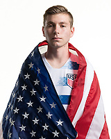 Rome, GA - Friday, June 21, 2019:  Para 7 USMNT headshot of Jacob Kaplan.