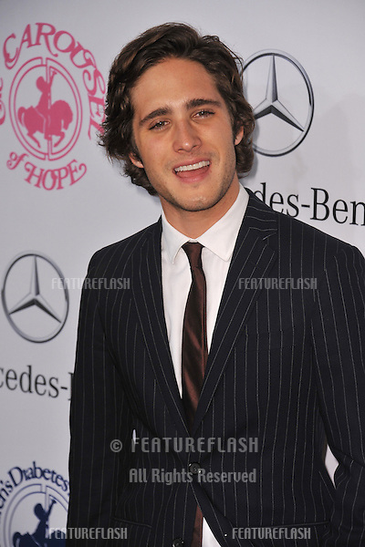 Diego Boneta at the 26th Carousel of Hope Gala at the Beverly Hilton Hotel..October 20, 2012  Beverly Hills, CA.Picture: Paul Smith / Featureflash