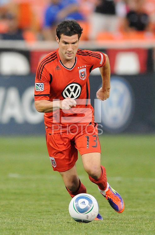 D.C. United forward Chris Pontius (13)  File photo RFK stadium 2011 season.