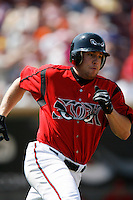 Chad Huffman of the Lake Elsinore Storm during a California League baseball game on April 29, 2007 at The Diamond in Lake Elsinore, California. (Larry Goren/Four Seam Images)