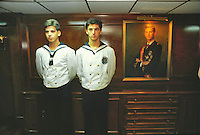 - officier's refectory on aircraft carrier Principe de Asturias<br /> <br /> - mensa ufficiali a bordo della portaerei Principe de Asturias