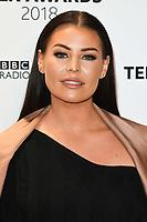 LONDON, UK. October 21, 2018: Jessica Wright at tthe BBC Radio 1 Teen Awards 2018 at Wembley Stadium, London.<br /> Picture: Steve Vas/Featureflash