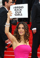 "Salma Hayek  attends the ""The Prophet"" 1ere - 67th Cannes Film Festival - France"