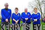 CLUB: capts and Presidents met up at the Ardfert Golf Club drive in on Sunday morning, L-r: John Fitzgerald (president), Joan Cantillon (lady President), Chris Miolloy (capt) and Mary Cantillinan (lady capt).....