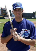 May 26, 2004:  Chris Basak of the Norfolk Tides, Triple-A International League affiliate of the New York Mets, during a game at Frontier Field in Rochester, NY.  Photo by:  Mike Janes/Four Seam Images