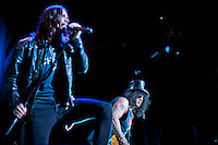 Slash performing live with Myles Kennedy and the Conspirators at Max-Schmeling-Halle, Berlin. Germany, 12.06.2012...Credit: Betke/face to face /MediaPunch Inc. ***FOR USA ONLY*** NORTEPHOTO.COM NORTEPHOTO.COM