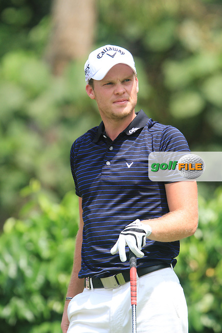 Danny Willett (ENG) on the 5th on the Final Day of the Maybank Malaysian Open 2012 at Kuala Lumpur Golf and Country Club, Kuala Lumpur, Malaysia..(Photo Jenny Matthews/www.golffile.ie)
