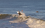 East Coast surfing in Folly Beach