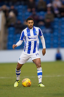 Brandon Comley of Colchester United in action during Colchester United vs Cheltenham Town, Sky Bet EFL League 2 Football at the Weston Homes Community Stadium on 6th January 2018