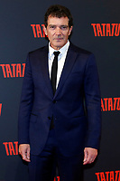 Antonio Banderas<br /> Rome March 6th 2019. Actor Antonio Banderas poses for photographers during the party to present the new social free platform Tatatu. Tatatu is a new platform where users can gain money in TTU Coin just watching the videos.<br /> Foto Samantha Zucchi Insidefoto