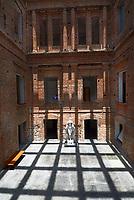 Museu Pinacoteca do Estado, no Parque da Luz. Obra de Ramos de Azevedo.<br /> S&atilde;o Paulo. 2019. Foto Daniel Cymbalista