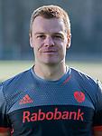 UTRECHT - Mink van der Weerden, in away / uit shirt speler Nederlands Hockey Team heren. COPYRIGHT KOEN SUYK