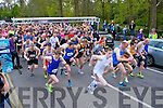 The runners take off at the start of the Feet First 5km In Killarney on Good Friday