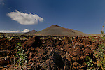 Volcanic cones at La Ristinga El Hierro, Canary Islands