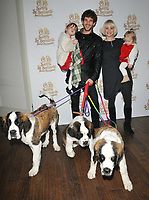 Kimberly Wyatt, Max Rogers and their kids at the &quot;Elf Pets: Santa's St. Bernard's Save Christmas&quot; VIP screening, Picturehouse Central, Corner of Shaftesbury Avenue, London, England, UK, on Sunday 04 November 2018.<br /> CAP/CAN<br /> &copy;CAN/Capital Pictures