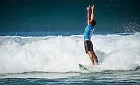 Pipeline,  OAHU - HAWAII, USA: (Thursday, December 17, 2015): Adriano de Souza (BRA)  - The Billabong Pipe Masters in Memory of Andy Irons was wrapped up today in 4 to 6 foot bumpy surf at the Banzai Pipeline. <br />  <br /> The final stop of the Men&rsquo;s Championship Tour and Vans Triple Crown of Surfing was decided with Adriano de Souza (BRA) claiming the World Champion's Title plus winning the Billabong Pipe masters. His fellow finalist and defending World Champion Gabriel Medina (BRA) in the 35 minute final.<br />  Photo: joliphotos.com