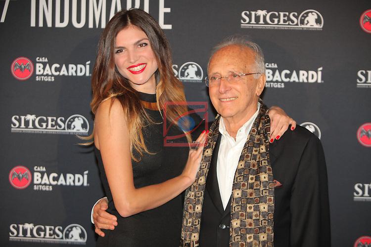 Premi Bacardi Sitges a l'Esperit Indomable 2016.<br /> Carlotta Morelli &amp; Ruggero Deodato.
