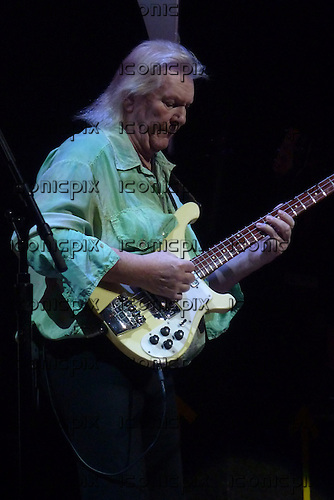 YES - bassist Chris Squire - performing live on the 40th Anniversary Tour at the Symphony Hall in Birmingham UK - 16 Nov 2009.  Photo credit: Alan Perry/IconicPix