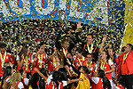 Independiente Santa venció como local 1-0 (3-1 en el global) a Atlético Huila y se coronó campeón de la Liga Águila Femenina I-2017.
