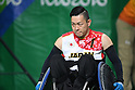 Hidefumi Wakayama (JPN), <br /> SEPTEMBER 18, 2016 - WheelChair Rugby : <br /> 3rd place match Japan - Canada  <br /> at Carioca Arena 1<br /> during the Rio 2016 Paralympic Games in Rio de Janeiro, Brazil.<br /> (Photo by AFLO SPORT)